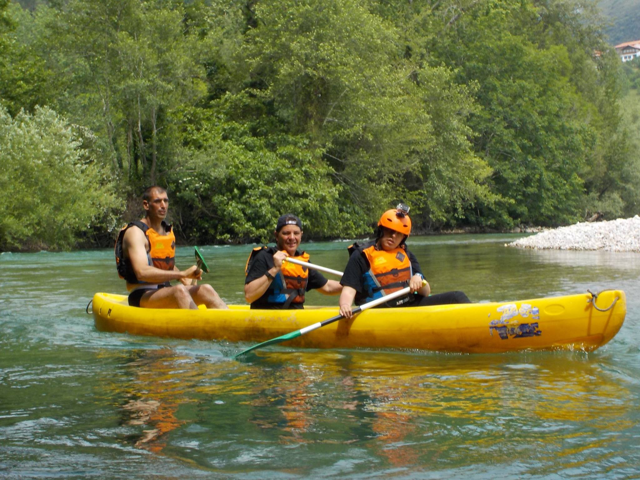 Canoas Río Deva