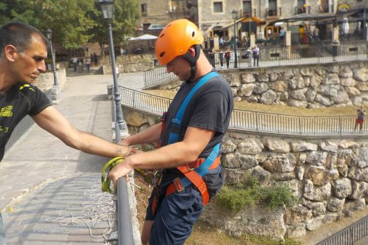 Puenting Milar Llanos Potes CanoeAventuraTrophy