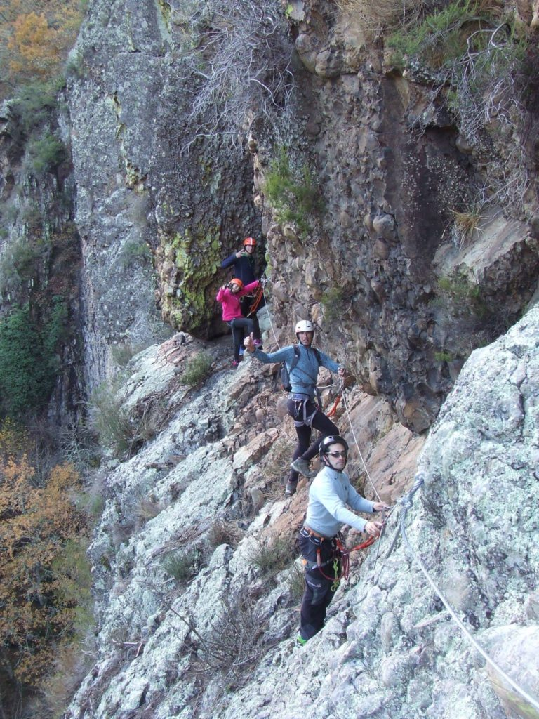 via ferrata Socastillo, Liebana
